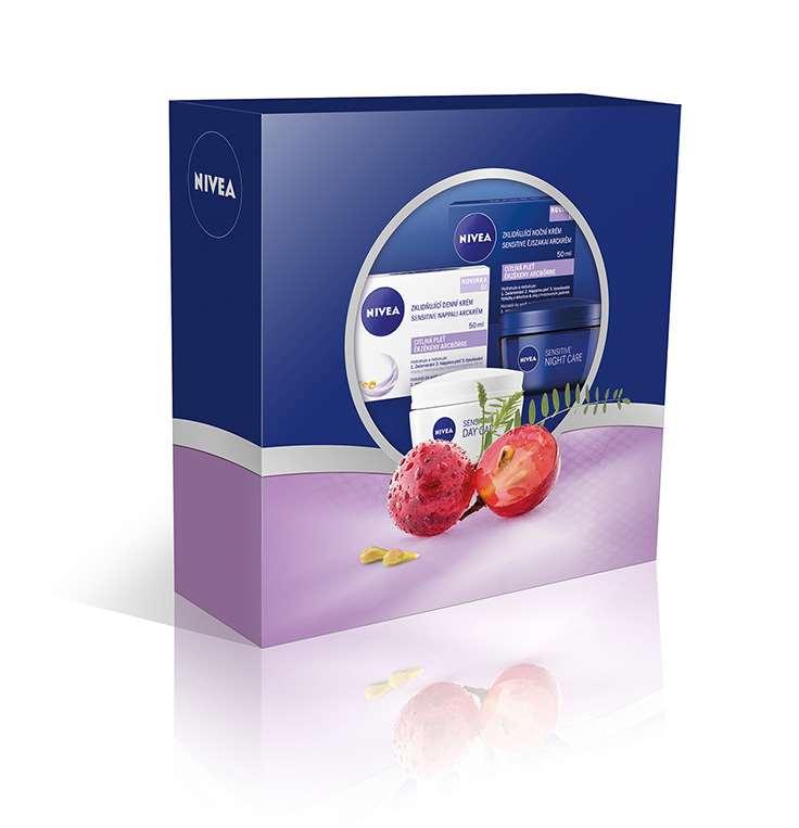 NIVEA Sensitive arcápoló csomag 2499Ft
