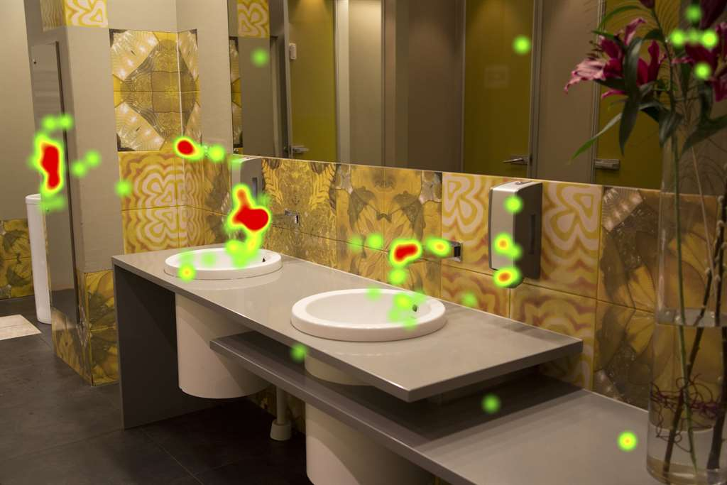 toilet heatmap